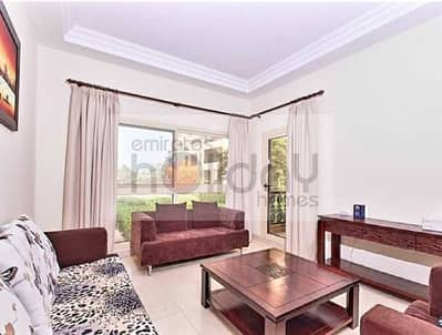 1 Bedroom Flat for Rent in Al Hamra Village, Ras Al Khaimah - Fully Furnished with Pool Views and Large Balcony