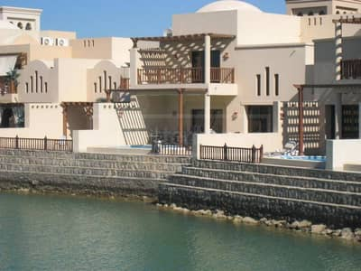 Furnished Island Chalet in The Cove at RAK