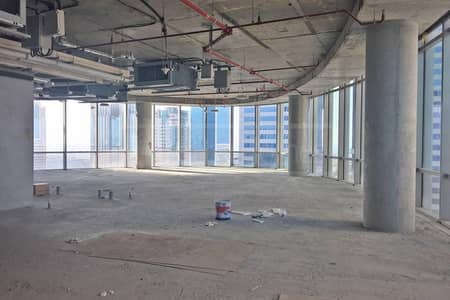 Shell and core in Emirates Financial North Tower