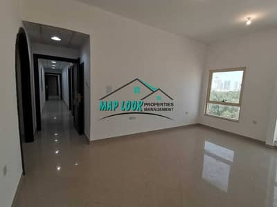 3 Bedroom Flat for Rent in Al Nahyan, Abu Dhabi - Huge !! 3 bedroom with maid room | balcony | spacious kitchen | 80k |very easy parking | located al nahyan