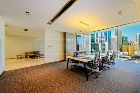 Fitted office for rent in Index Tower DIFC