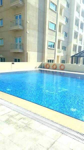 2 Bedroom Flat for Sale in Downtown Jebel Ali, Dubai - Pool View ! Fully Furnished 2 Bedroom in Suburbia 800K