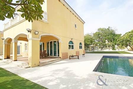 فیلا 5 غرف نوم للايجار في جميرا بارك، دبي - Private Pool | Legacy | Available September
