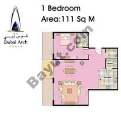1 Bedroom Type D