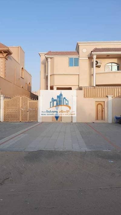 3 Bedroom Villa for Rent in Al Mowaihat, Ajman - GROUND FLOOR VILLA 3 BEDROOMS OUT SIDE NEW MAJLIS BIG TERRACE
