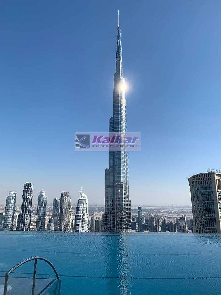 Downtown||Address sky view tower 2||Luxurious 1 BR Apt. with 5 Star Facility and view of skyline||  Rent - AED. 140K