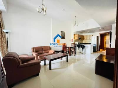 1 Bedroom Apartment for Rent in Dubai Sports City, Dubai - FULLY FURNISHED 1BHK IN ELITE 9
