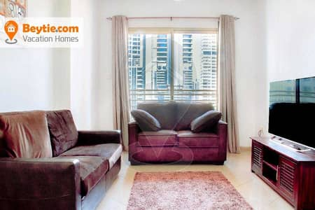1 Bedroom Flat for Rent in Jumeirah Lake Towers (JLT), Dubai - Fully Furnished 1 BR with Amazing Views ICON Tower 2