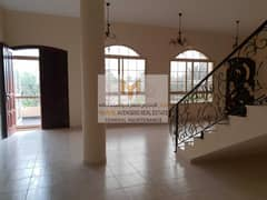 Luxury 8 MBR villa with Maid room + Big Yard + Central A C