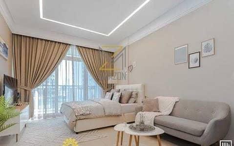 استوديو  للبيع في أرجان، دبي - 5 YEARS INSTALLMENTS ready apartment fully equipped kitchen