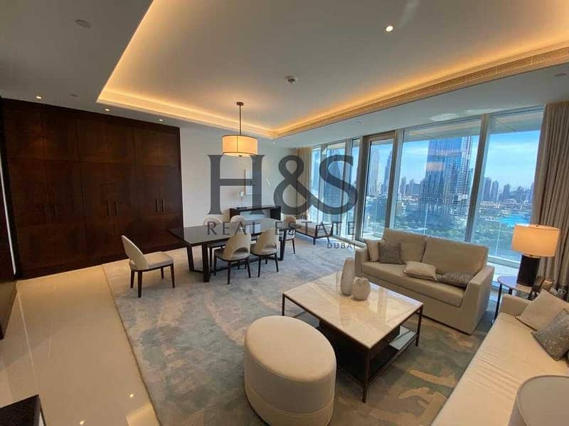 2 Fully Furnished 2 Beds   Burj Khalifa View   Ready to Move