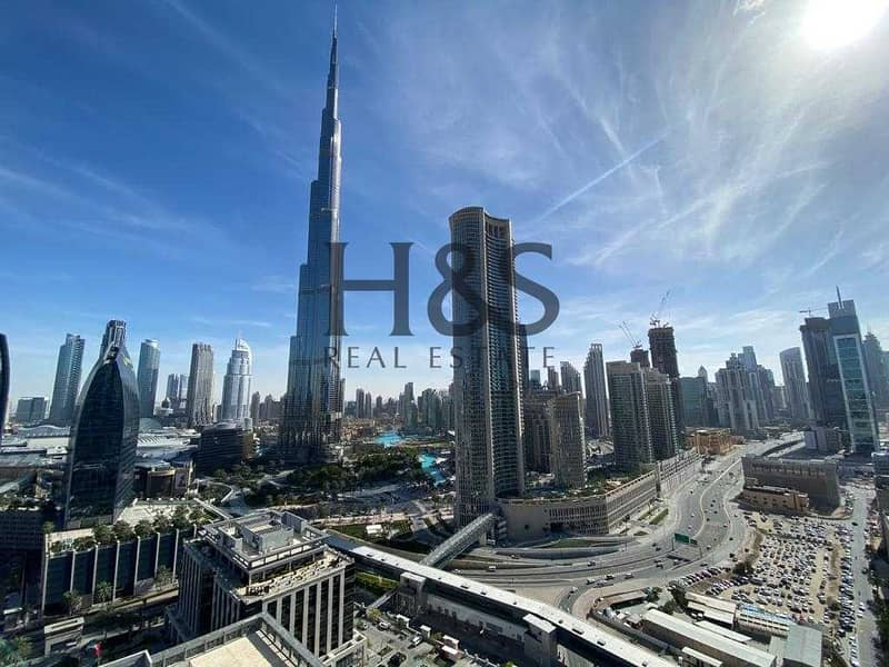 11 Fully Furnished 2 Beds   Burj Khalifa View   Ready to Move