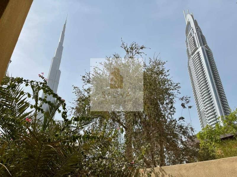 Burj Khalifa View|| With Garden ||  Yansoon 1