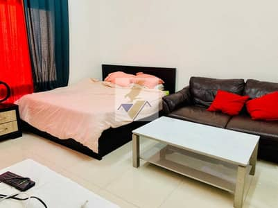 Studio for Rent in Tourist Club Area (TCA), Abu Dhabi - FULLY FURNISHED MONTHLY STUDIO NEAR ABU DHABI MALL INCLUDING ELECTRICITY & WATER 3400