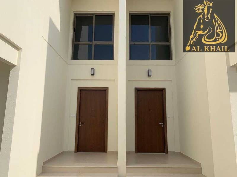 Modern 3 bedroom villa in Noor Townhouses  Town Square