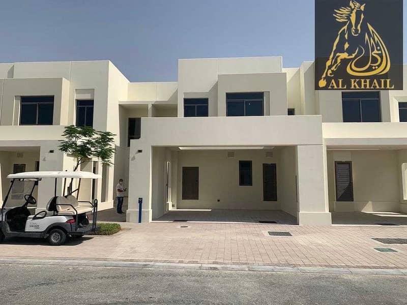 2 Modern 3 bedroom villa in Noor Townhouses  Town Square