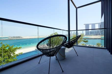 1 Bedroom Apartment for Sale in Al Reem Island, Abu Dhabi - Apartment for sale in Abu Dhabi with private entrance on the beach only 45000 down payment and 6 years Installments