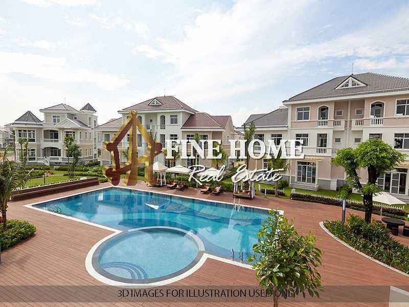 Compound 12 Villa | pool | Garden |Tennis Courts