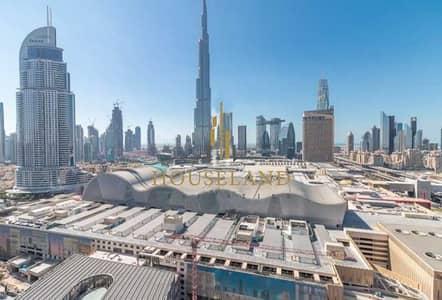 شقة 1 غرفة نوم للايجار في وسط مدينة دبي، دبي - Top Floor I 2 Balconies Full Canal and Burj View