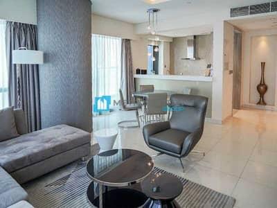 فلیٹ 2 غرفة نوم للايجار في الخليج التجاري، دبي - Fully Furnished | Middle Floor | Vacant I Call now