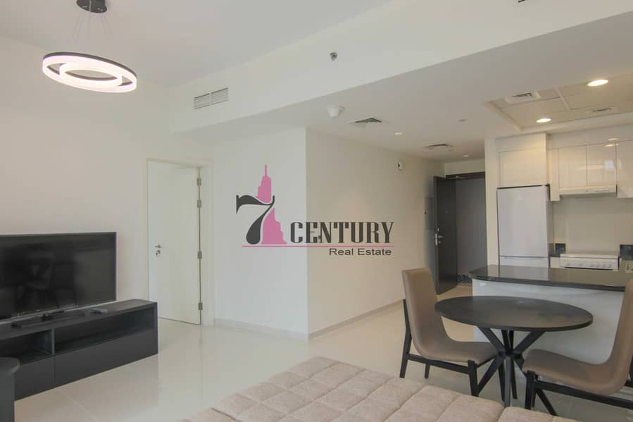 Fully Furnished | 1 BR Apt | Skyscraping Structure