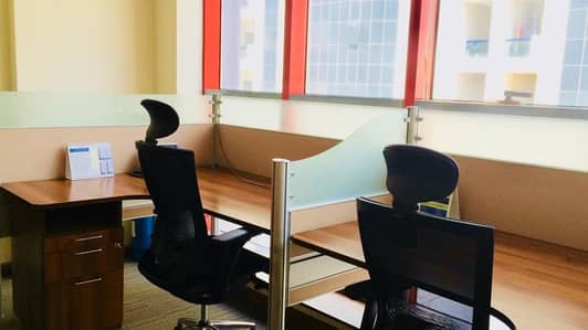 Private Fully furnished Office Including DEWA @ 45,000