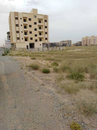 Plot for Sale in Al Jurf, Ajman - A plot of land for sale, residential, commercial, corner of two straight streets, in the Al Jarf area in the Emirate of Ajman, at an affordable price