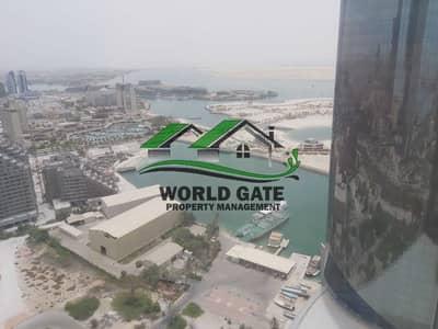 شقة 2 غرفة نوم للايجار في شارع الكورنيش، أبوظبي - Special chance I Sea view apartment I 2 BHK I Corniche Road