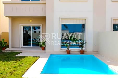 Single Row  with  Sharing Pool 5BR Villa