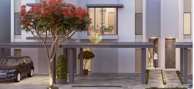 3 Bedroom Townhouse for Sale in The Valley, Dubai - family oriented community/garden views