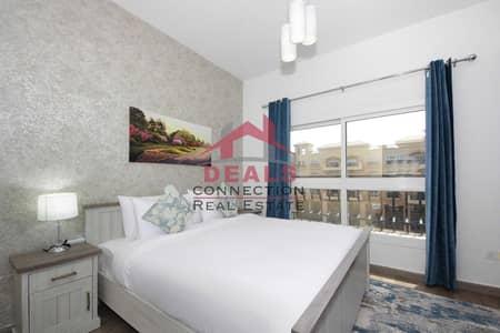 فلیٹ 1 غرفة نوم للايجار في قرية جميرا الدائرية، دبي - Well Maintained   Fully furnished   Pool View   Luxury 1 Bedroom