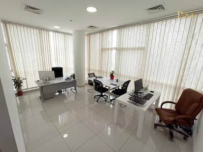 Office for Rent in Bur Dubai, Dubai - 250 sqft Private Office with Panoramic View | No Commission