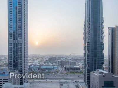 فلیٹ 1 غرفة نوم للبيع في وسط مدينة دبي، دبي - Spectacular View   Rented   Mid Floor
