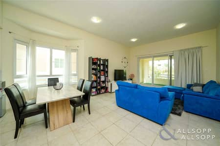 2 Bedroom Apartment for Rent in Green Community, Dubai - Two Bedrooms   Low Floor   Unfurnished