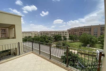 3 Bedroom Apartment for Rent in Motor City, Dubai - Three Bedroom   Corner Unit   Maids Room