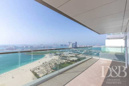 3 Bedroom Apartment for Rent in Jumeirah Beach Residence (JBR), Dubai - Sea View | Private Beach Access | Vacant