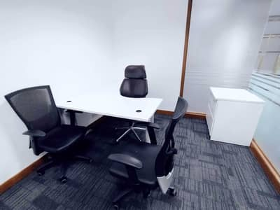 Office for Rent in Sheikh Zayed Road, Dubai - FULLY FURNISHED & SERVICED SMART OFFICES IN AFFORDABLE RENT ON PRIME LOCATION