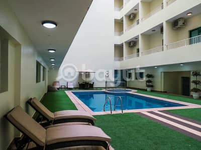 1 Bedroom Apartment for Rent in Al Amerah, Ajman - Brand new smart tower, FEWA  / easy payment