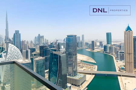 2 Bedroom Flat for Sale in Business Bay, Dubai - HIGH FLOOR | Exclusive Offer | Huge Layout