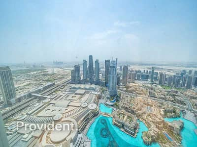 Full fountain View, Furnished 2BR+M High Floor