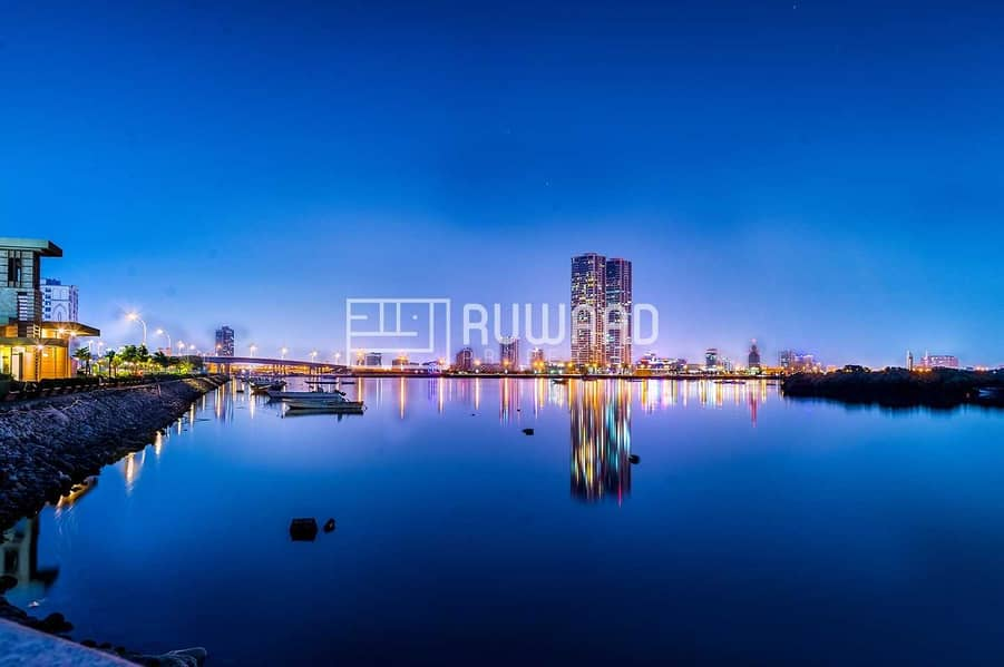 Sea View Office for Rent in Julphar Towers
