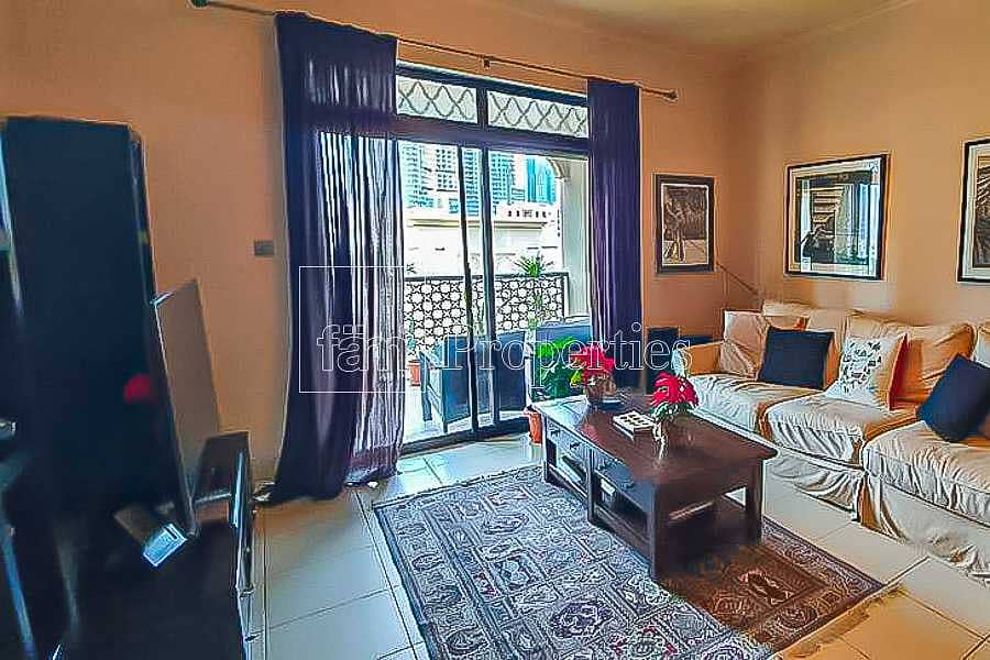 2 Large Balcony I 2 bedrooms with attached bathrooms