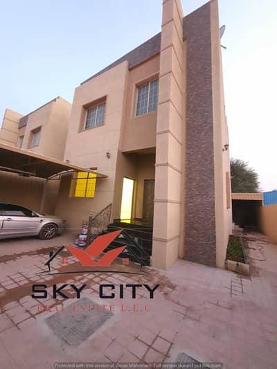 5 Bedroom Villa for Rent in Al Mowaihat, Ajman - Villa for rent in the finest areas of Ajman, super deluxe finishing villa
