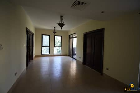 1 Bedroom Flat for Rent in Old Town, Dubai - Vacant Miska 1 bed with study room Old Town