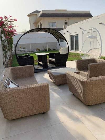 5 Bedroom Villa for Rent in Al Talae, Sharjah - Modern Design 5BR Bedroom 1 Story Villa With Beautiful Garden In Just 90k Al Talae