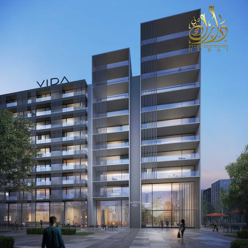 Pure investment Vida is the first joint project between Emaar and Arada  with the largest dancing fountain in Sharjah