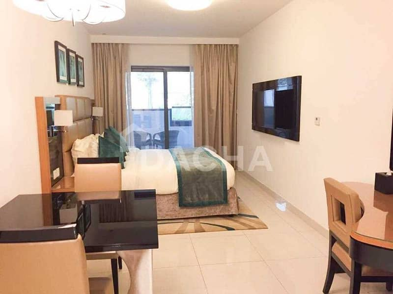 Elegant Studio / Fully Furnished / Available Now