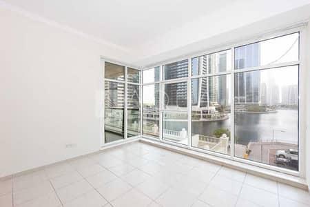شقة 2 غرفة نوم للايجار في أبراج بحيرات الجميرا، دبي - Amazing Full Lake View   Maid's Room   Vacant