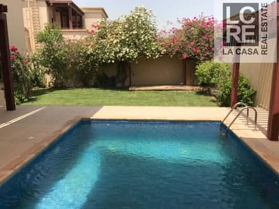 4 Bedroom Villa for Rent in Al Raha Golf Gardens, Abu Dhabi - Well Maintained Villa I 4BR with Pool I Extraordinary