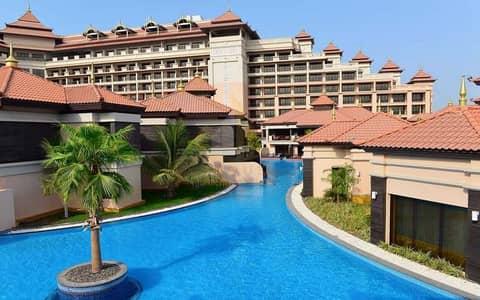 فلیٹ 2 غرفة نوم للايجار في نخلة جميرا، دبي - Sea Views with Beach Access | Fully Furnished | Huge Terrace